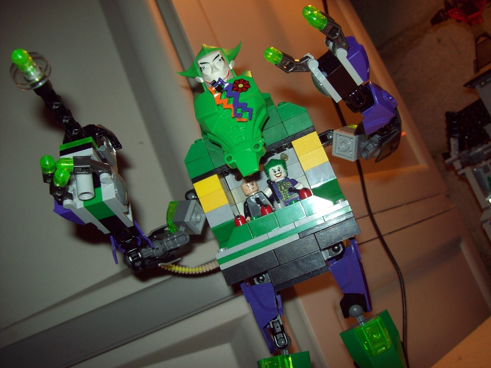 LEGO Creation: LEGO Batman 2 Joker Robot on ToysnBricks.com