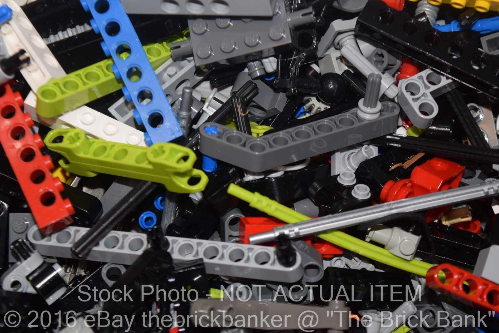 LEGO TECHNIC Mindstorms Bulk Lot 1 lb Pound of RANDOM Beams Gears Axles Parts