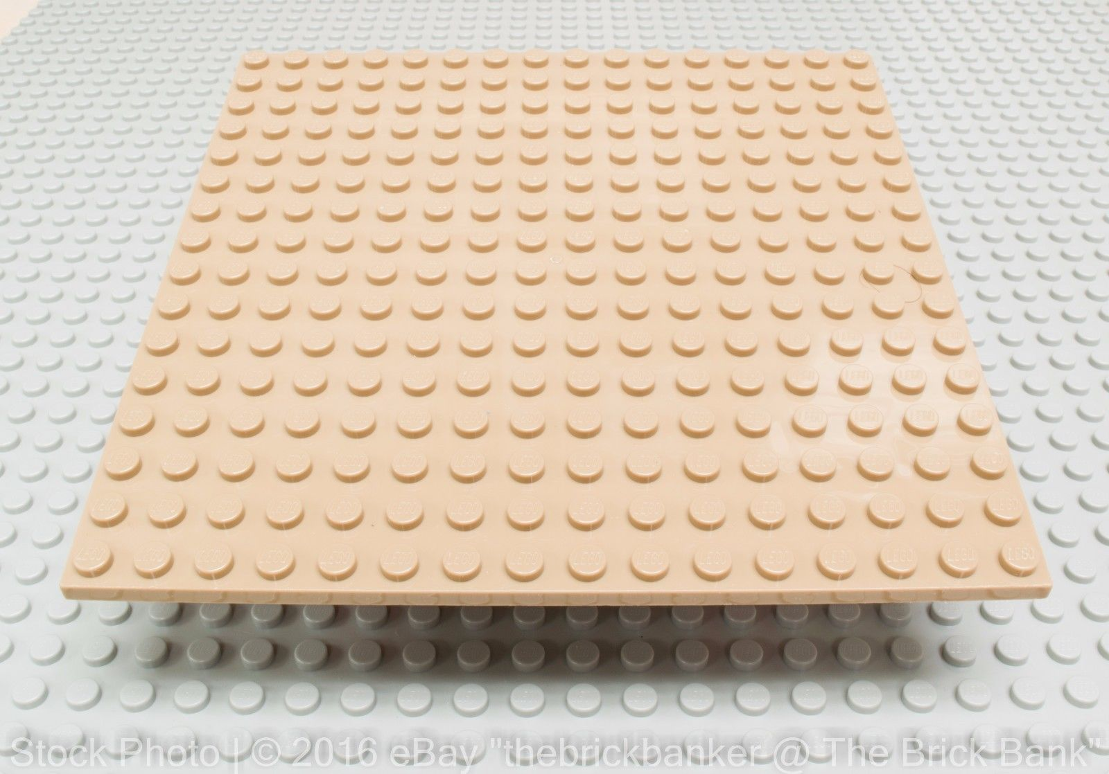 Lego 25 New Dark Tan Plates 6 x 8 Dot Building Blocks Pieces