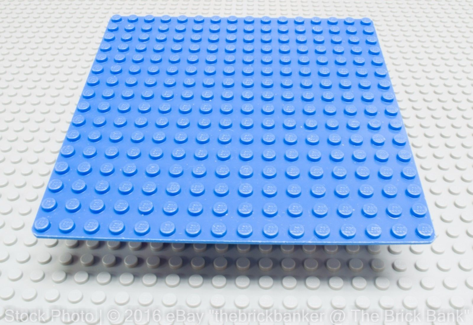 LEGO Tan 16x16 Flat Building Plate Piece 5 inches x 5 inches