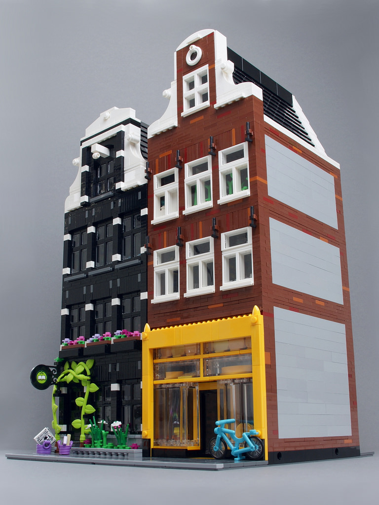 LEGO MOC Cheese Shop And Museum by Palixa And The Bricks