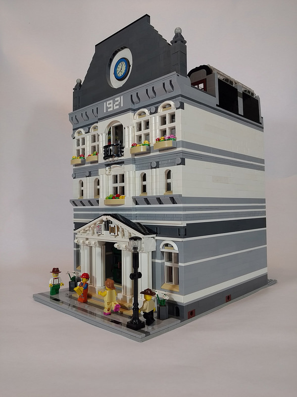 LEGO MOC New Brickton Library by legoman34.geo