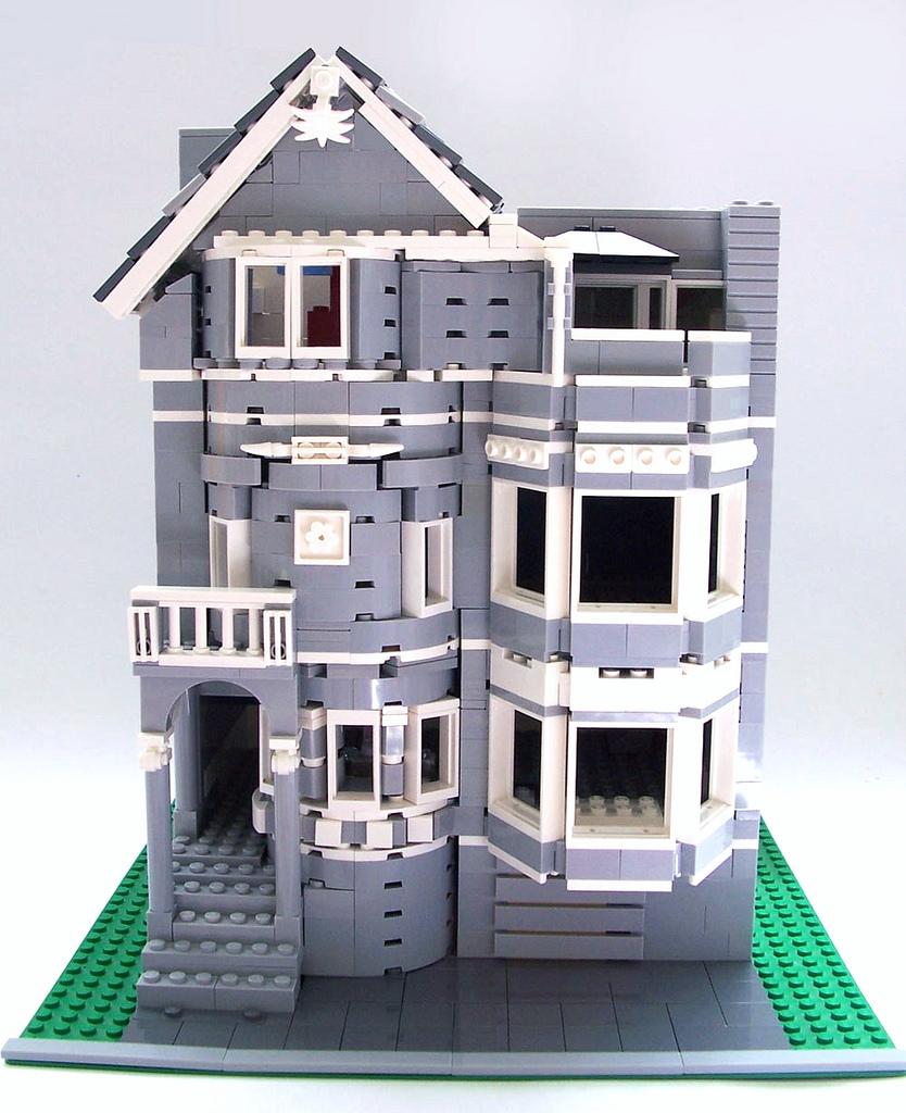 LEGO Moc Victorian House Razzle-Jazzle.