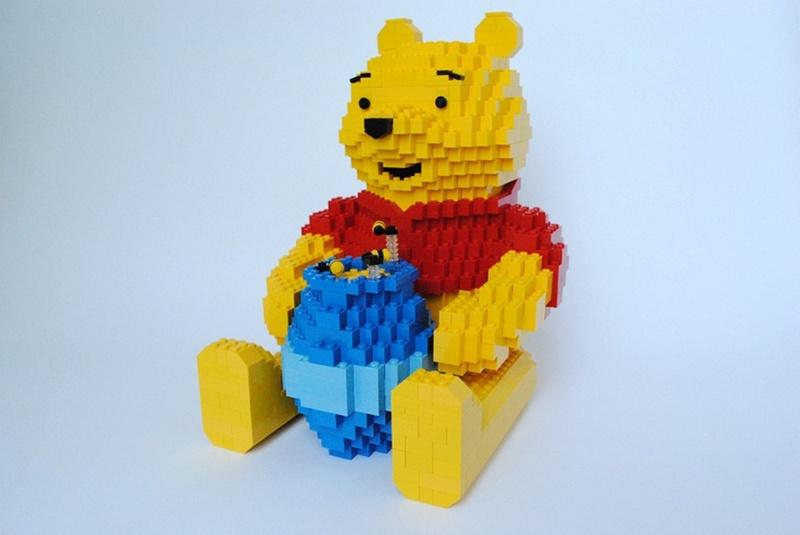 LEGO Winnie the Pooh Display