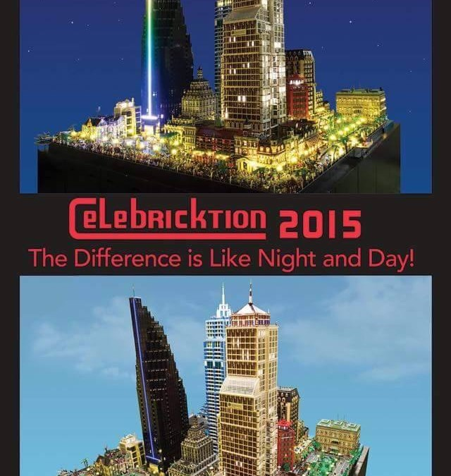 Come check us out at Celebricktion this weekend!