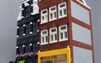 Color Accents with White Bricks